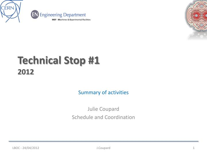 technical stop 1 2012 n.