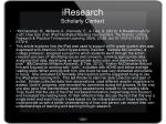 iresearch scholarly context
