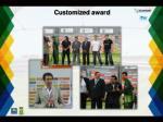 customized award
