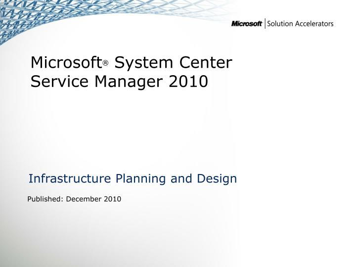 infrastructure planning and design n.