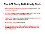 the ace study definitively finds