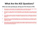 what are the ace questions