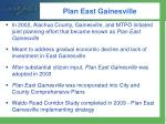 plan east gainesville