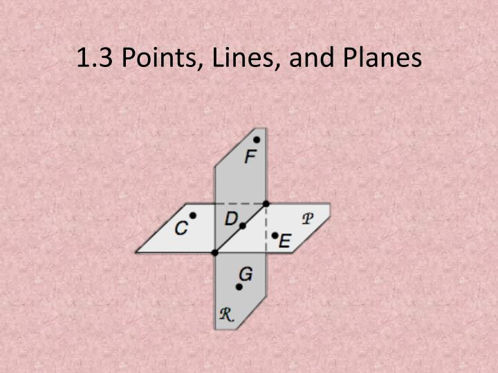 1 3 points lines and planes n.