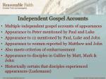 independent gospel accounts