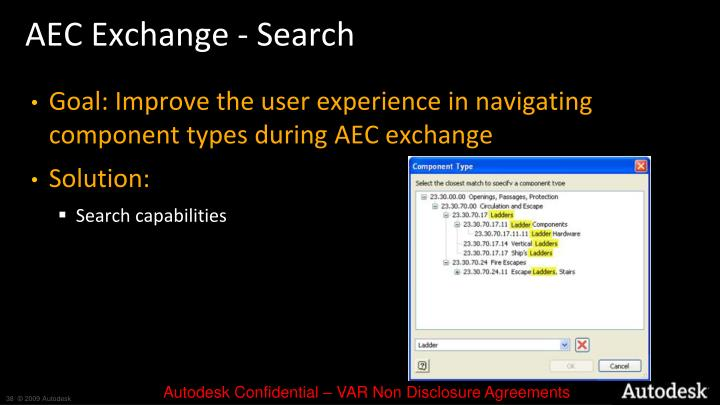 AEC Exchange - Search