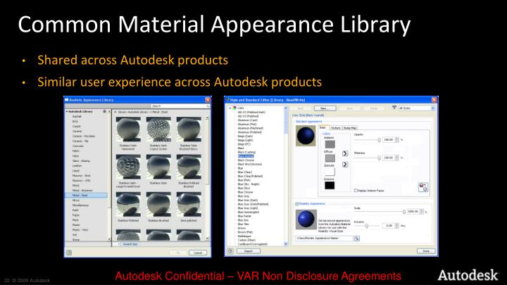 Common Material Appearance Library