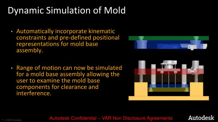 Dynamic Simulation of Mold