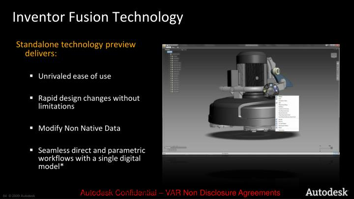 Inventor Fusion Technology