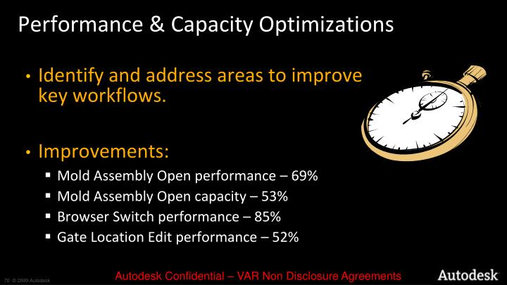 Performance & Capacity Optimizations