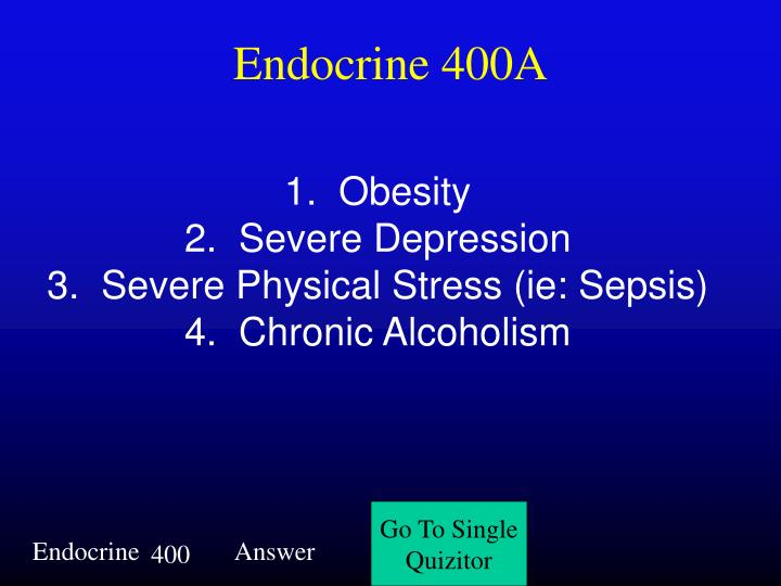 Endocrine 400A