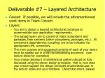 deliverable 7 layered architecture