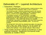 deliverable 7 layered architecture1