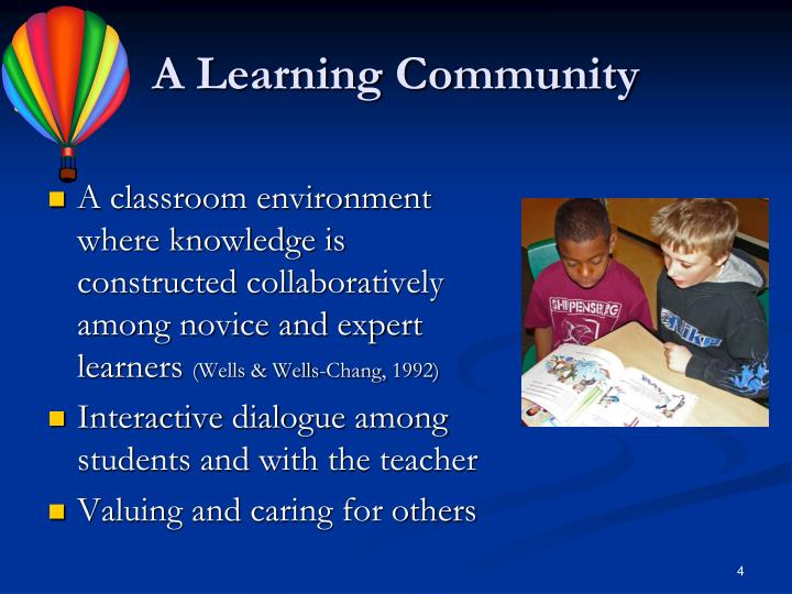 A Learning Community