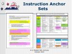 instruction anchor sets