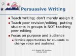 persuasive writing1