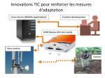 innovations tic pour renforcer les mesures d adaptation