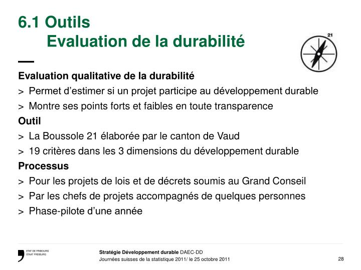 6.1 Outils