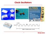 clock oscillators