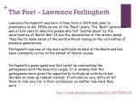 the poet lawrence ferlinghetti
