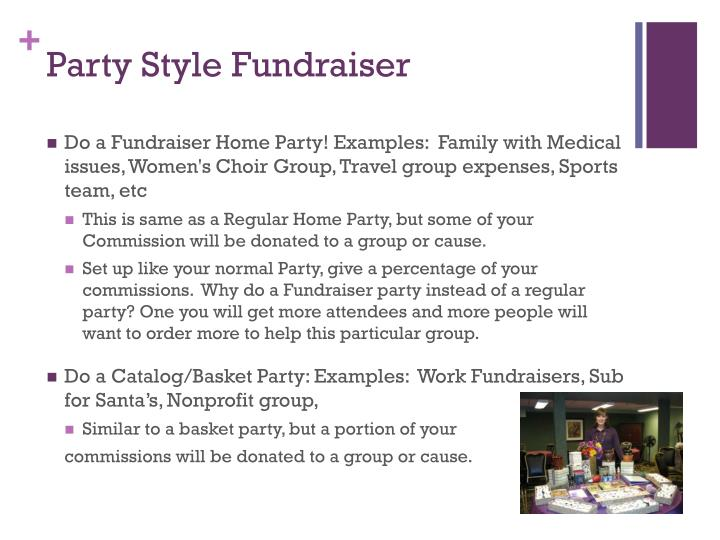 Party Style Fundraiser