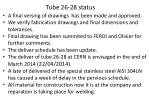 tube 26 28 status