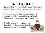 negotiating roles1