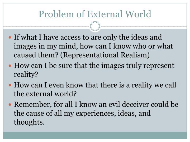 Problem of External World