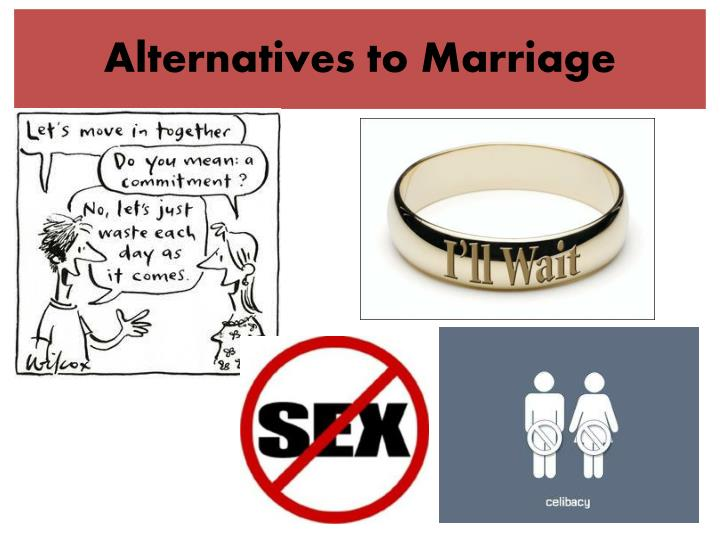 alternatives to marriage n.