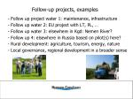 follow up projects examples