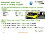 klima aktiv mobil 2020 focus in funding program1