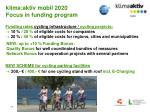 klima aktiv mobil 2020 focus in funding program2