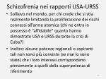 schizofrenia nei rapporti usa urss2
