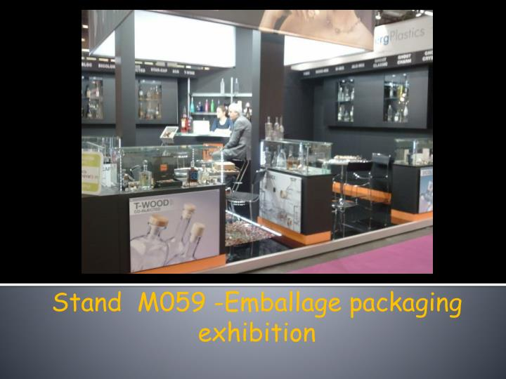 Stand  M059 -Emballage packaging exhibition