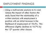 employment findings1