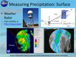 measuring precipitation surface1