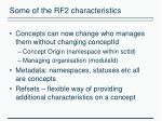 some of the rf2 characteristics