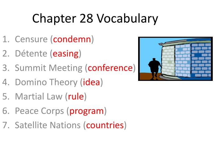 chapter 28 vocabulary n.