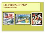 us postal stamp printmaking project