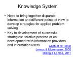 knowledge system
