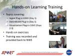 hands on learning training