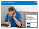 clinical excellence