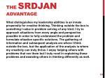the srdjan advantage