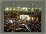 congressional meeting