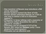 senate bills