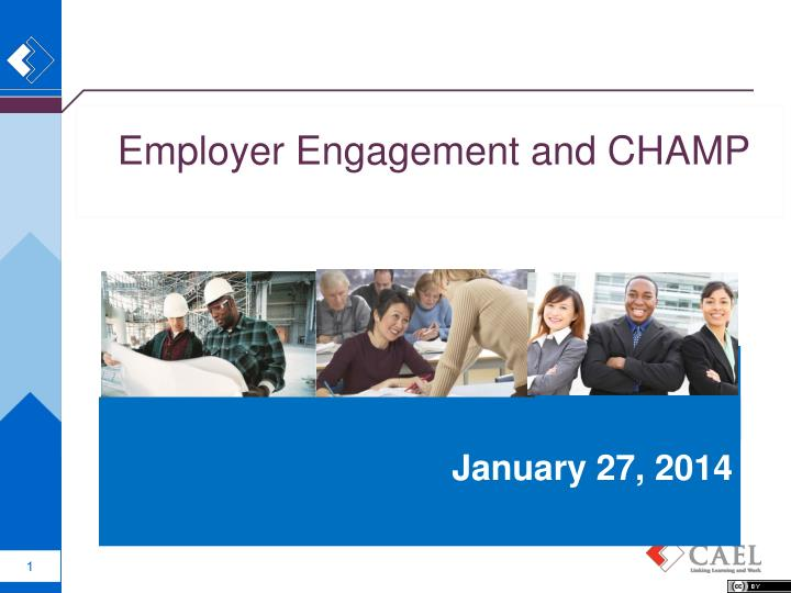 employer engagement and champ n.