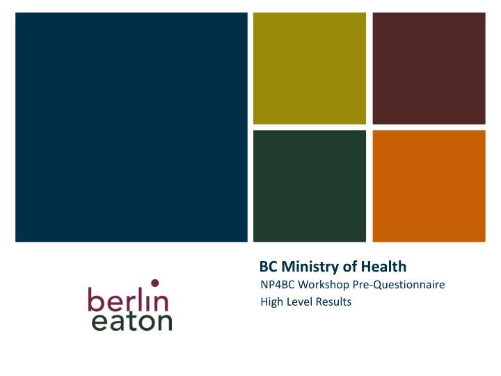 bc ministry of health n.