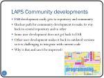 laps community developments