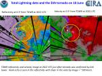 total lightning data and the dia tornado on 18 june4
