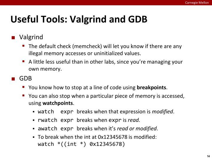 Useful Tools: